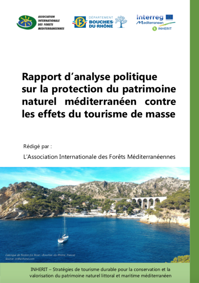 """The """"Policy analysis report on the protection of Mediterranean natural heritage against the effects of mass tourism"""" has just been published"""